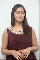 Nikki Galrani in a Brown Shining Sleeveless Gown at Nakshatram music launch ~  Exclusive 079.JPG