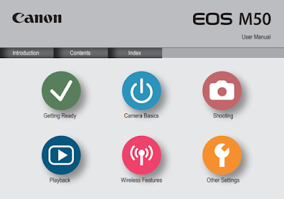 Download Canon EOS M50 Mirrorless Camera PDF User Guide / Manual