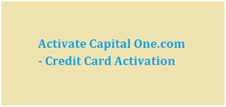Activate New Capital One Credit Card