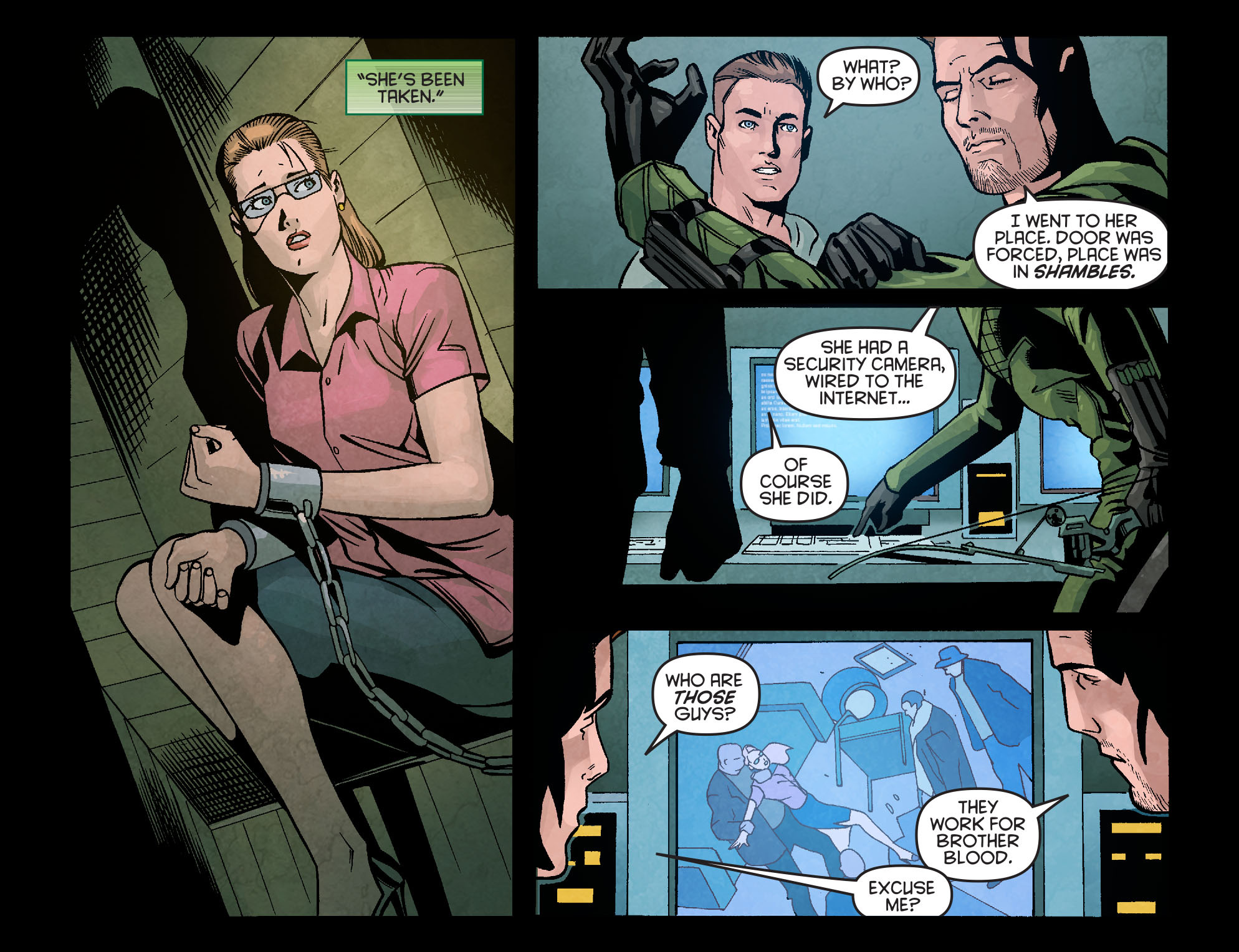Read online Arrow: Season 2.5 [I] comic -  Issue #10 - 18