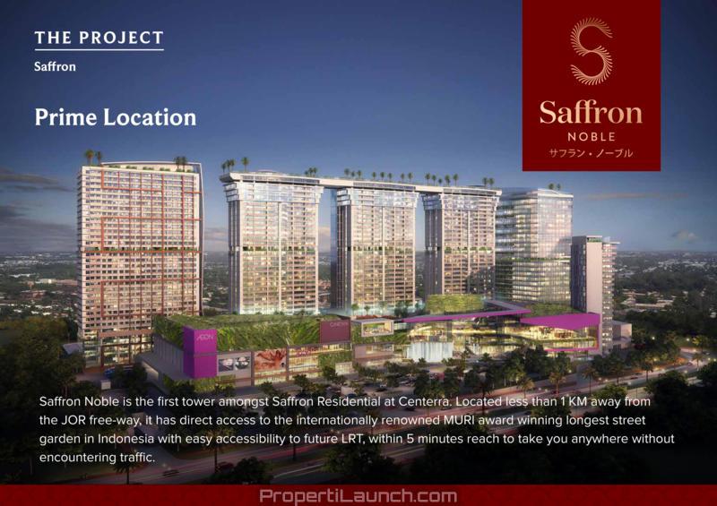 Saffron Noble Sentul City Apartemen