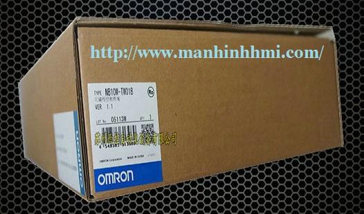 Đại lý bán màn hình cảm ứng HMI Omron NB10W-TW01B full box, mới, đầy đủ phụ kiện