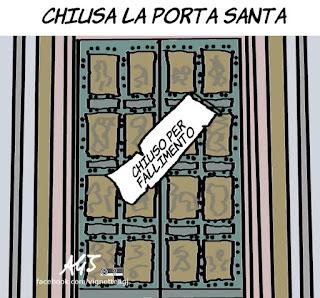 giubileo, misericordia, papa Francesco, satira, vignetta