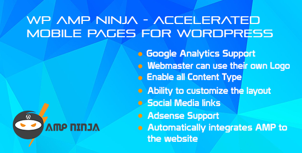 WP Ninja Created AMP WordPress Plugin