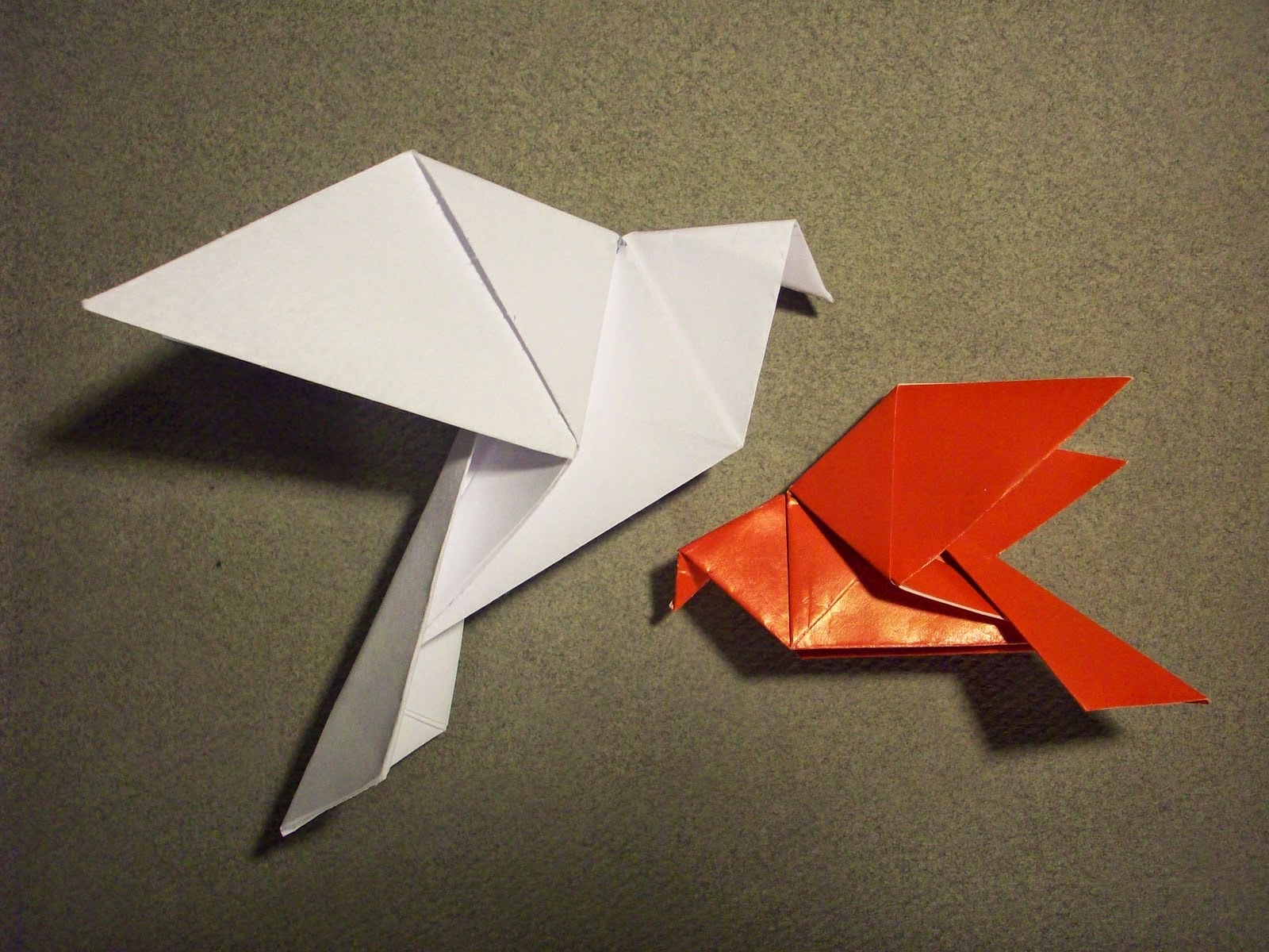 origamibilder #pinterest #origami #besten #dove #easy #auf ... | 1200x1600