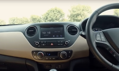 New 2017 Hyundai Grand i10 Facelift Dashbord