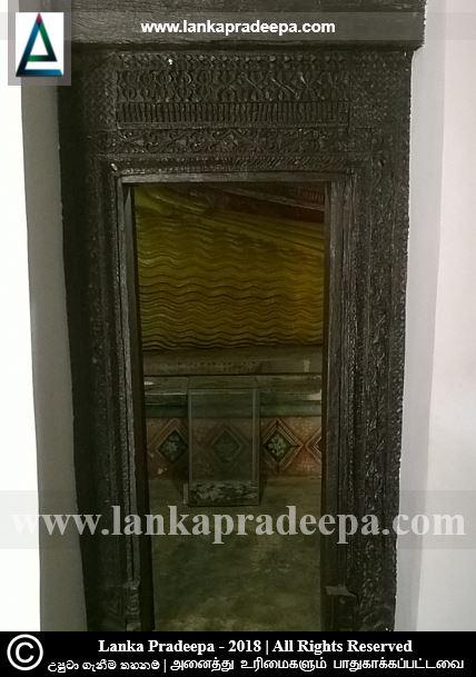 Wooden door frame, Wanamandawa