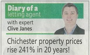 chichester observer newspaper heading