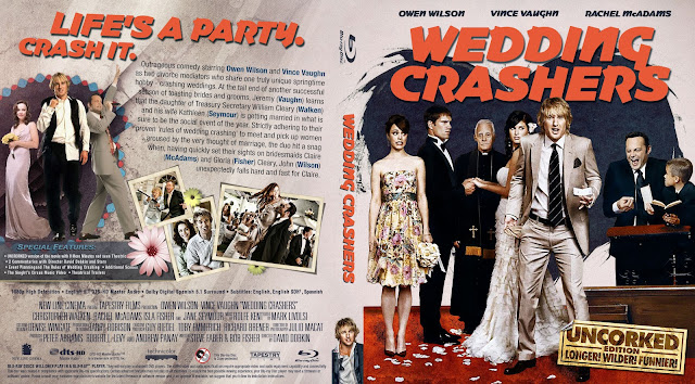 Wedding Crashers Bluray Cover