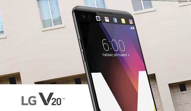LG V20 Official Specs