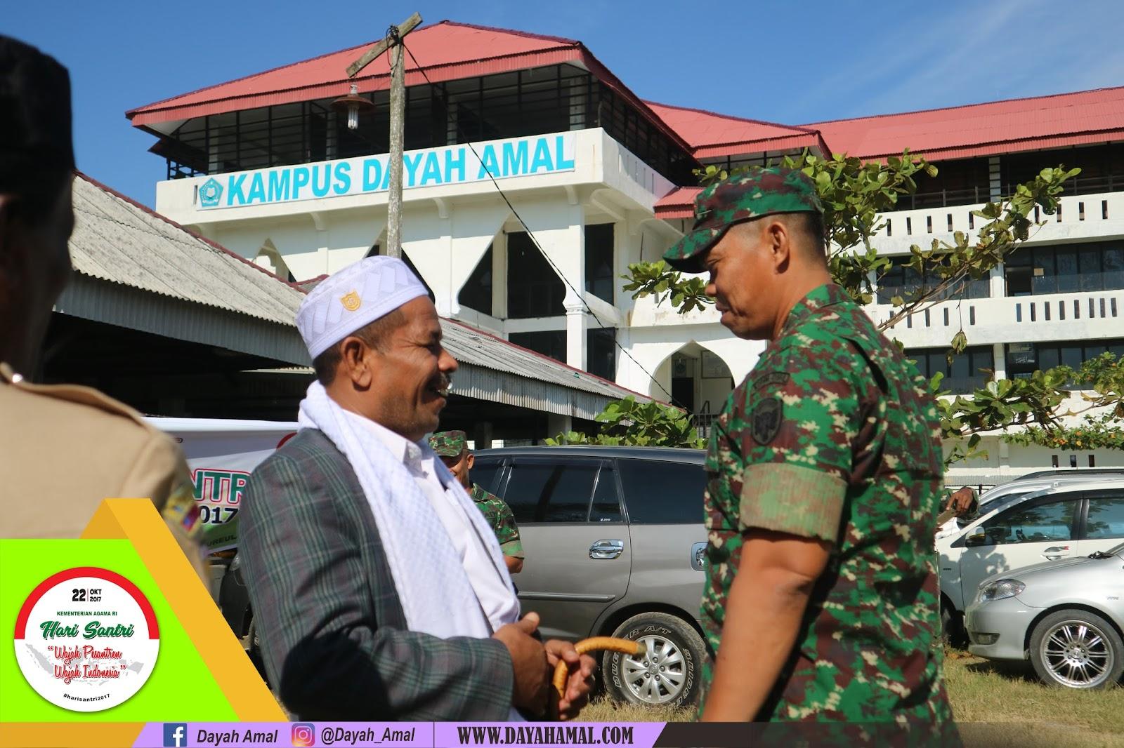 Hari Santri Nasional di Dayah AMAL 2017