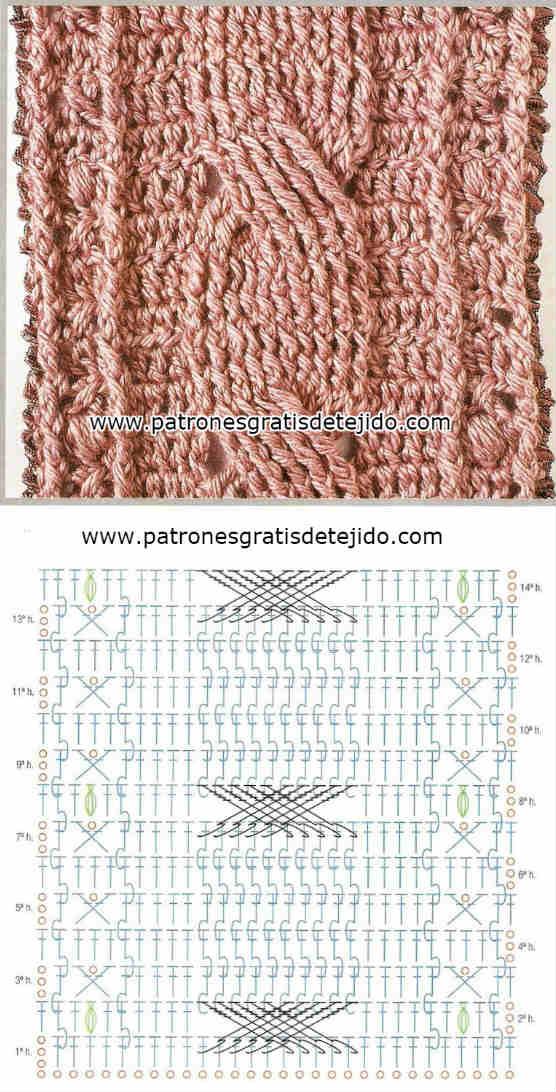 Aprende a tejer trenzas y ochos a ganchillo / DIY | Crochet y Dos ...