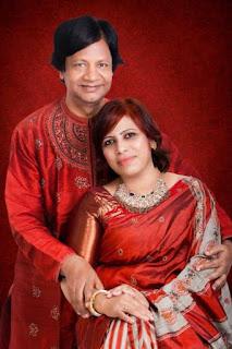 Bidya Sinha Saha's Parents Birendra Nath Saha And Chobi Saha