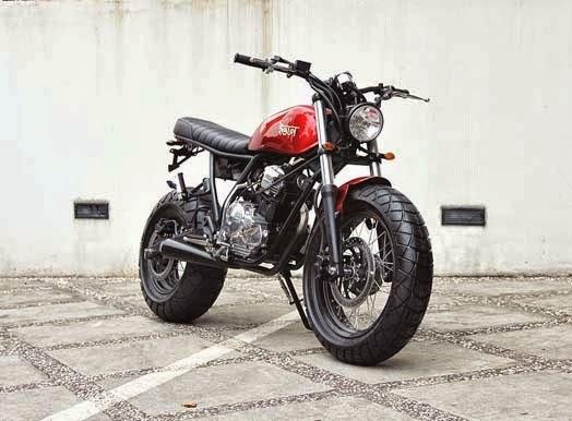 Modifikasi Yamaha Scorpio, The Red Tracker