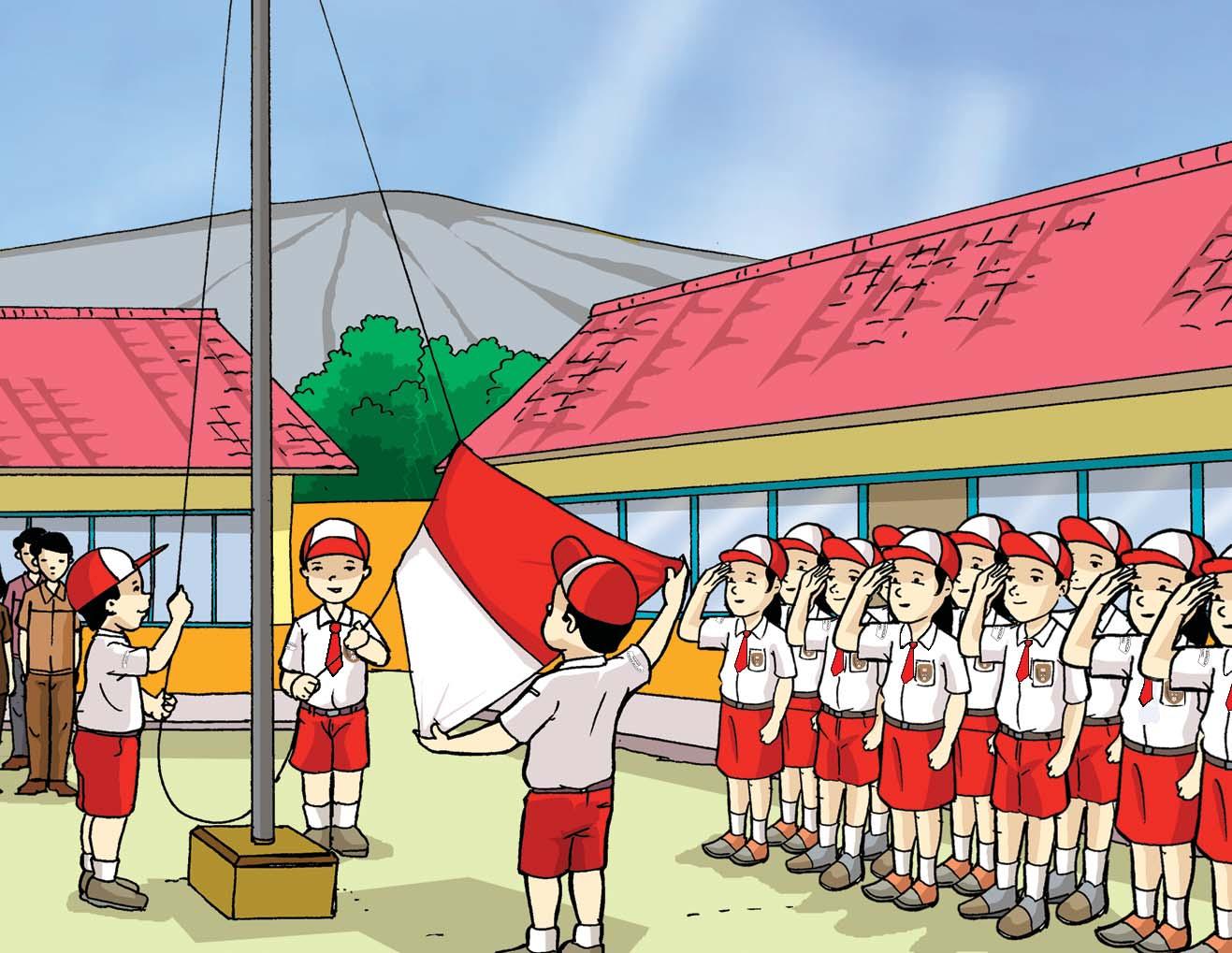 Alasan Wajib Upacara Bendera Di Sekolah - Info Pendidikan
