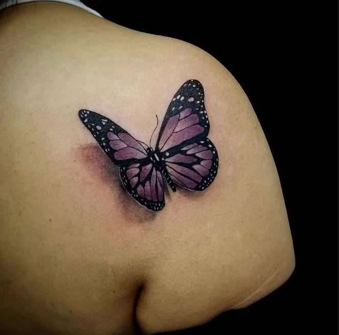 100 Unique Butterfly Tattoos For Women With Meaning 2019