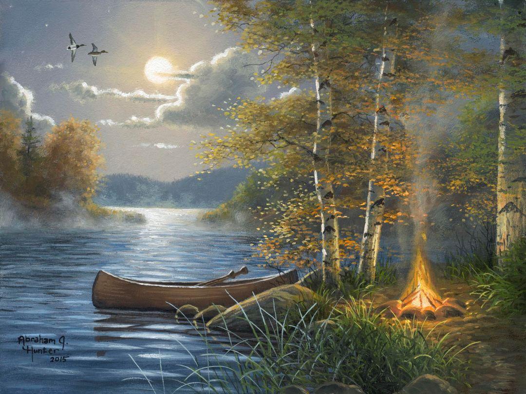 Mis Pinturas Preferidas Abraham Hunter