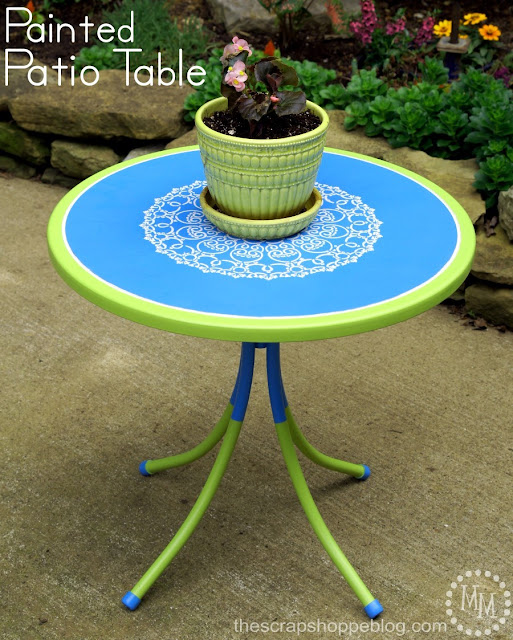 painted-patio-table