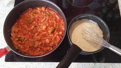 préparation Lasagne aux légumes