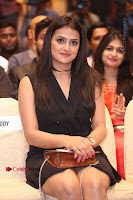 Actress Shraddha Srinath Stills in Black Short Dress at SIIMA Short Film Awards 2017 .COM 0067.JPG