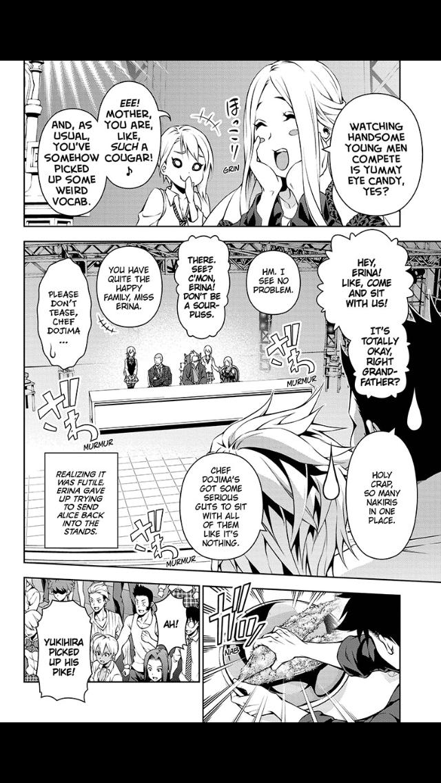 Shokugeki no Soma - Chapter 110