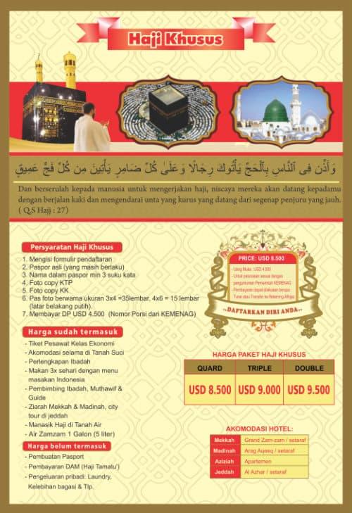 paket haji khusus onh plus alhijaz