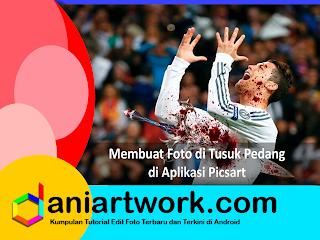 Picsart Editing Foto | Cara Edit Foto di Tusuk Pedang Menggunakan Picsart