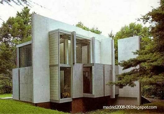 Una casa desconstructivista diseñada por Peter Eisenman en Cornwall, Connecticut