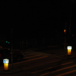 Signal lamp in good old days