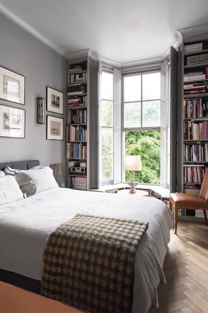 Bedroom - French Art Deco Flat