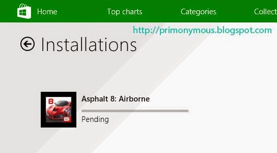 Mengatasi Masalah Pending Download Di Windows Store