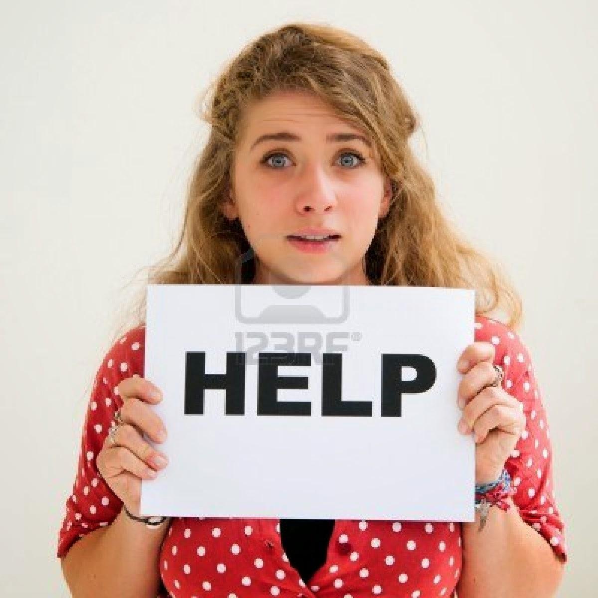 Jeune femme cherche aide financière