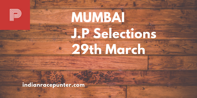 Mumbai Jackpot Selections 29th March, 2019