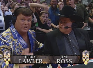 WWE / WWF Survivor Series 1998 - Jerry 'The King' Lawler & Jim Ross