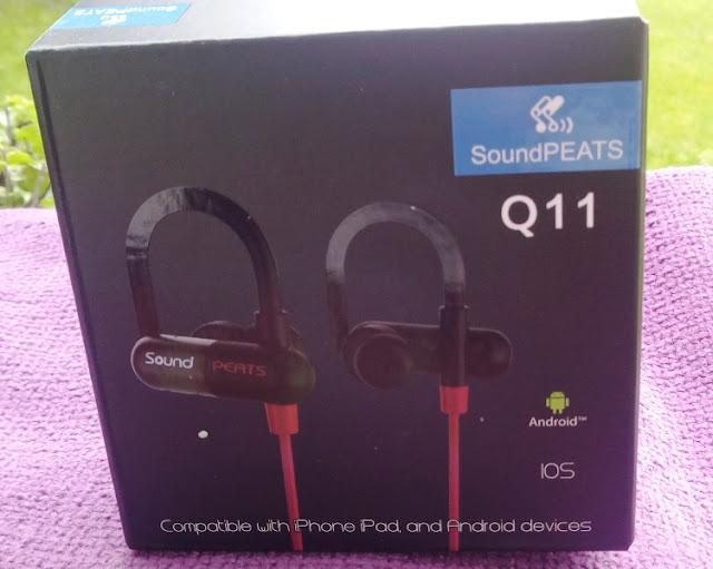 Soundpeats Q11 Bluetooth Wireless Sport Earbuds Amongst Ear Hooks!