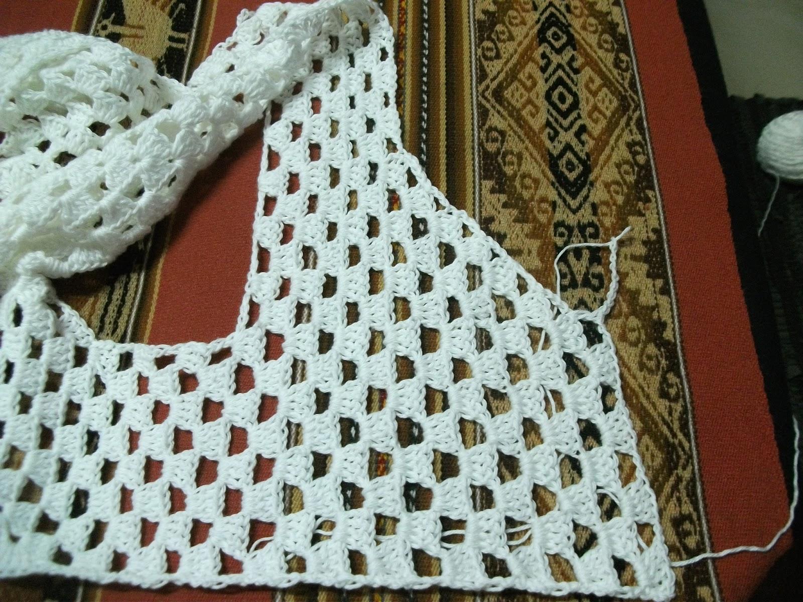 Dos chalecos a crochet para tejer gratis paso a paso - Dibujos de ganchillo ...