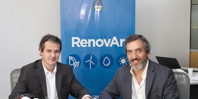 Se firmaron ocho nuevos proyectos de energías renovables
