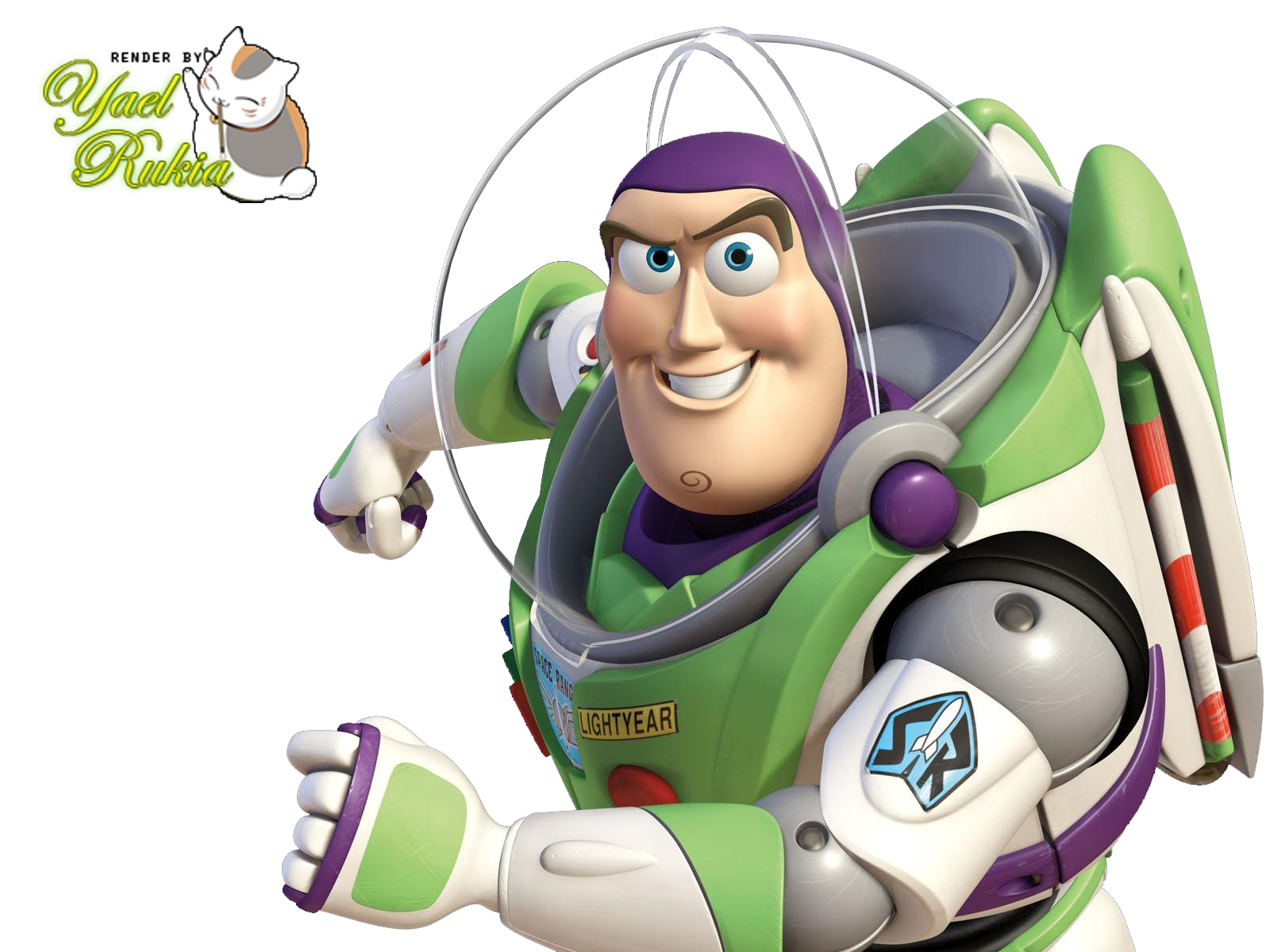 Render Buzz Lightyear
