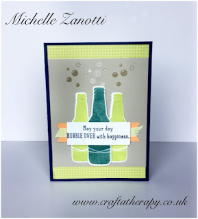 stampin' up! UK bottles  Bubbles Framelits bubble over dsp heartfelt blooms ribbon sale-a-bration spring summer catalogue tutti frutti