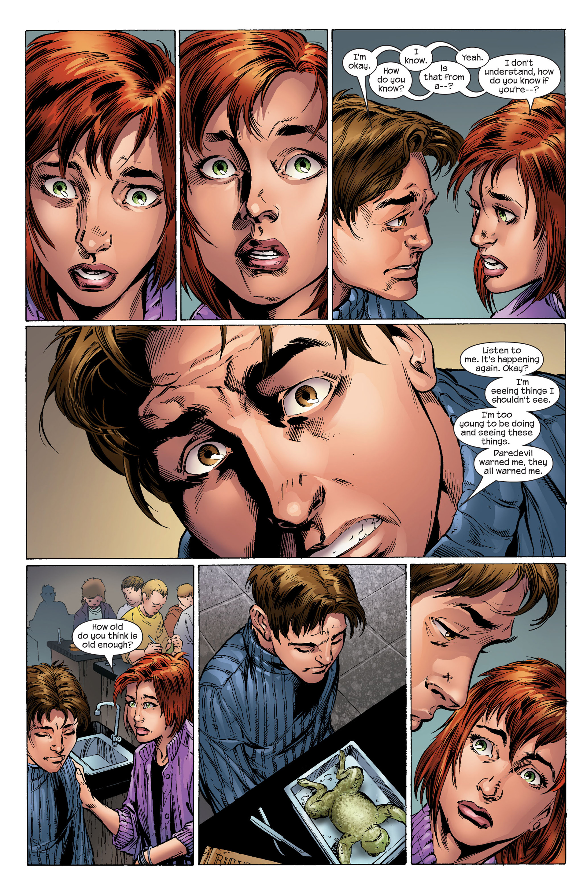 Read online Ultimate Spider-Man (2000) comic -  Issue #96 - 21