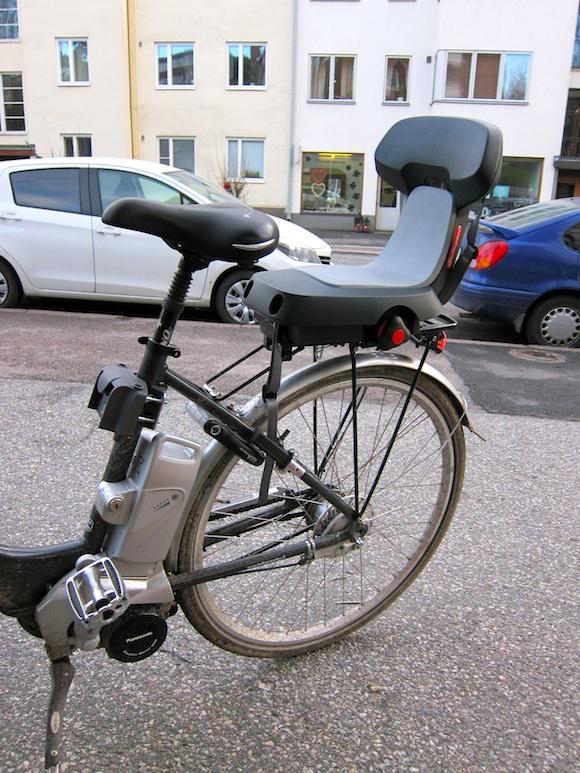 polkupyörän turvaistuin vertailu