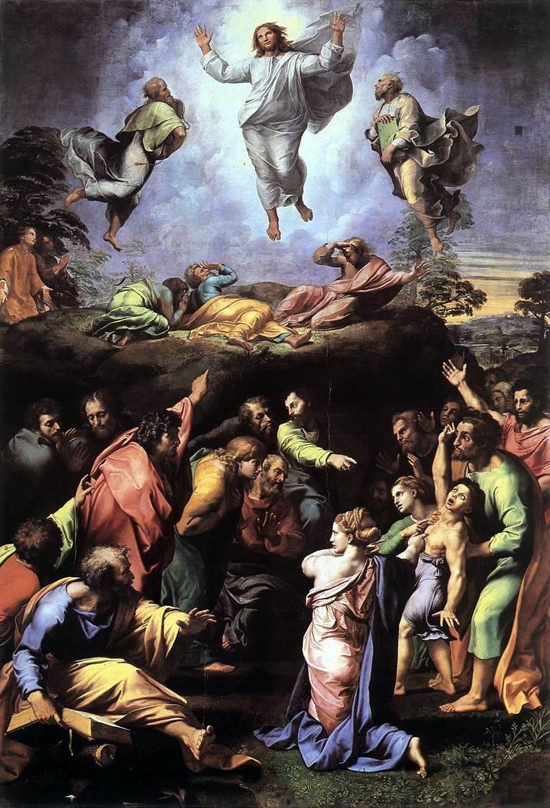 Raffaello Sanzio e Giulio Romano, Transfigurazione