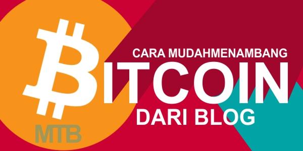 Cara Mudah Menambang Bitcoin Melalui Blog