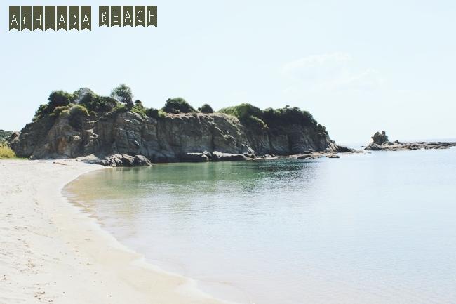 Achlada beach, Sarti, Sithonia
