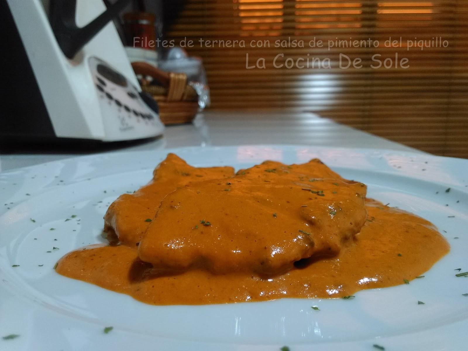 La cocina de sole filetes de ternera con salsa de for Cocinar filetes de ternera