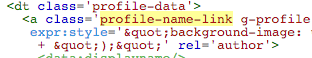 eliminar codigo perfil logo