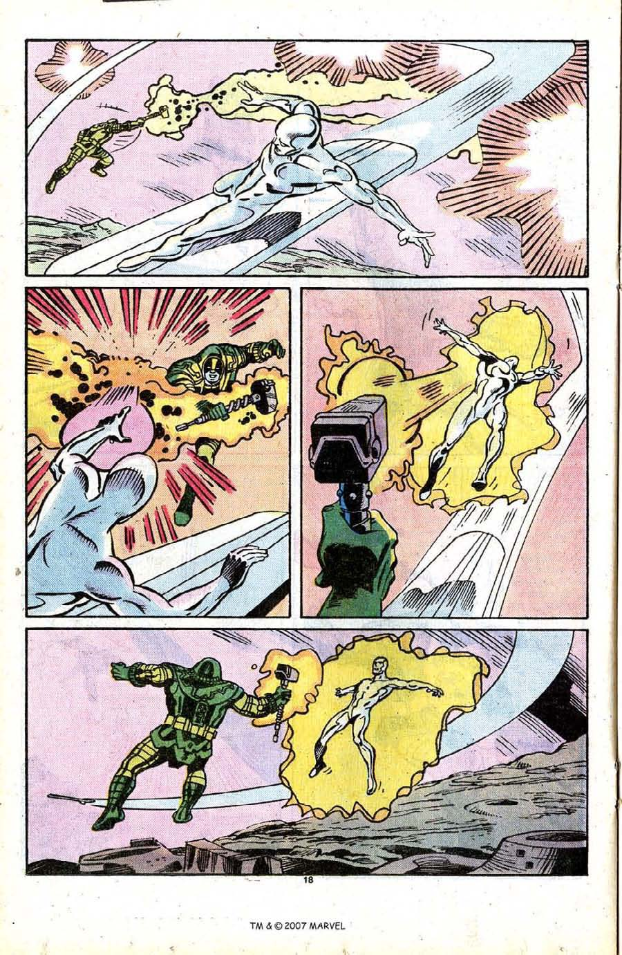Read online Silver Surfer (1987) comic -  Issue #13 - 20