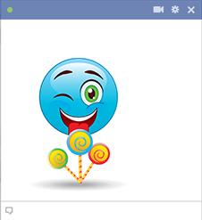 Lollipops Facebook Emoji