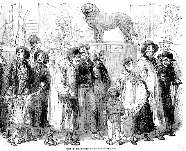1851 Crystal Palace public visitors