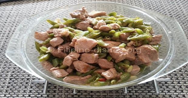 Filipino Baguio Beans Stew  (Abitsuelas Guisado) Recipe